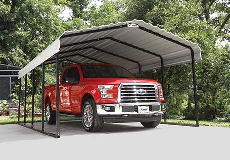 Stahl-Carport, Quad, ATV, Auto, Transporter - Arrow Carport 1208 - SL122007