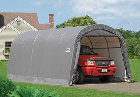 carport garage breite 3 7 m l nge 3 7 bis 6 1 m shelterstore. Black Bedroom Furniture Sets. Home Design Ideas
