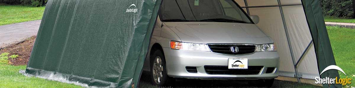 carport garage von shelterlogic breite 37 m lnge 61 bis 305 m